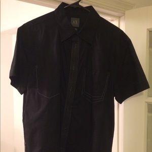 Armani Exchange Men's Black Shirt